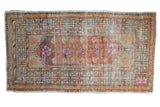 Vintage Distressed Oushak Rug Runner / ONH item 7480