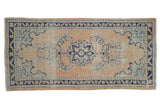Vintage Distressed Oushak Rug Runner / ONH item 7481