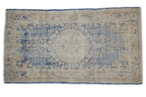 Vintage Distressed Oushak Rug Runner / ONH item 7485