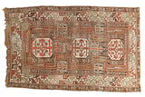Antique Caucasian Rug / ONH item 7508