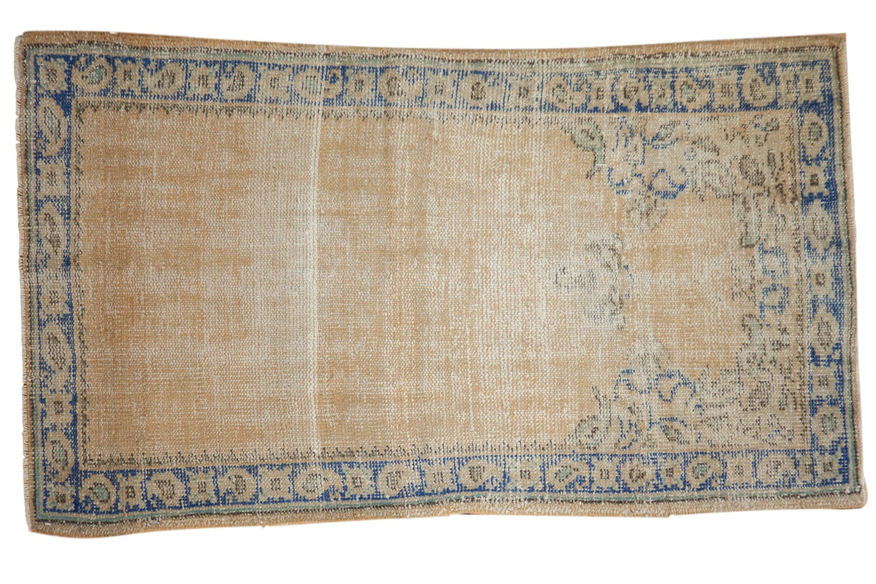 3x5 Vintage Distressed Oushak Rug // ONH Item 7516