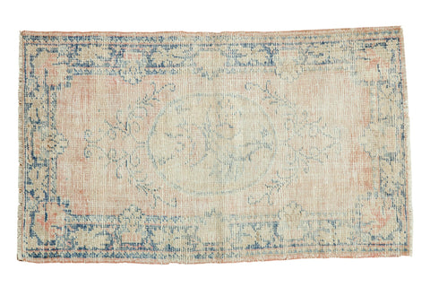 2.5x4.5 Vintage Distressed Oushak Rug // ONH Item 7545