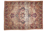 Antique Kerman Rug / ONH item 7564