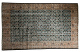 Vintage Distressed Oushak Carpet / ONH item 7569