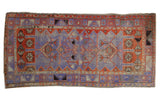 Vintage Distressed Oushak Rug Runner / ONH item 7571