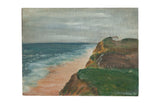 Vintage Seascape Painting // ONH Item 7661
