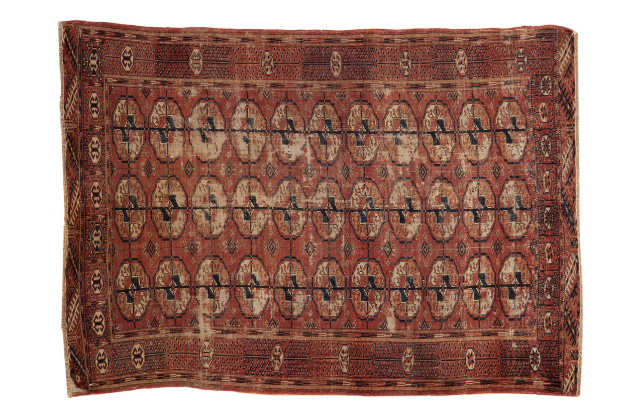 3.5x5 Antique Tekke Rug // ONH Item 7827