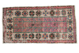 2.5x5.5 Vintage Distressed Oushak Rug Runner // ONH Item 7843