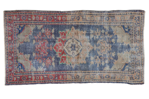 2.5x4.5 Vintage Distressed Oushak Rug // ONH Item 7846