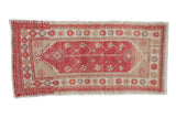 2x4.5 Vintage Distressed Oushak Rug Runner // ONH Item 7862