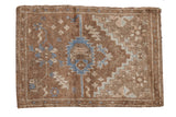 2.5x3.5 Vintage Distressed Oushak Rug // ONH Item 7865