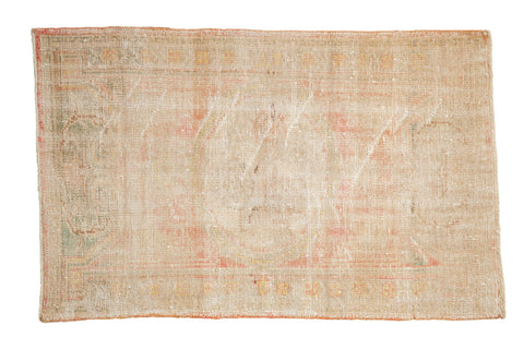 2.5x4.5 Vintage Distressed Oushak Rug // ONH Item 7959