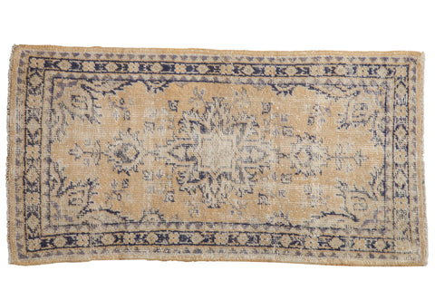 2.5x4.5 Vintage Distressed Oushak Rug // ONH Item 7988