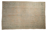 6x9 Vintage Distressed Oushak Carpet // ONH Item 8037