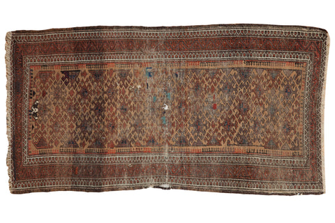 3x5 Antique Belouch Rug // ONH Item 8079