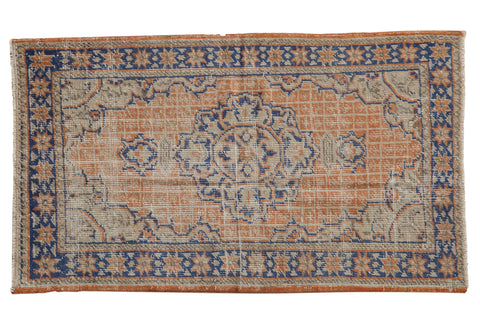 3x5 Vintage Distressed Oushak Rug // ONH Item 8107