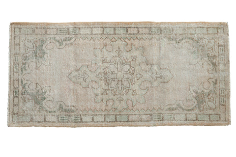 2x4.5 Vintage Distressed Oushak Rug Runner // ONH Item 8111