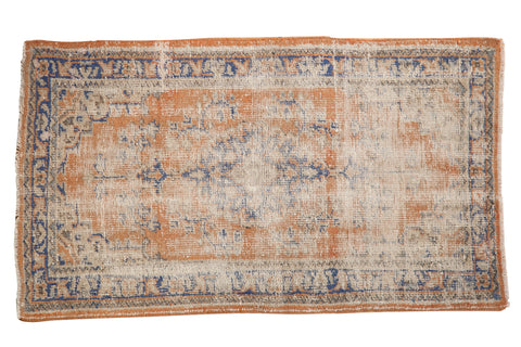 2.5x4.5 Vintage Distressed Oushak Rug // ONH Item 8117