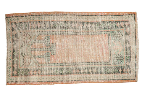 2x4 Vintage Distressed Oushak Rug Runner // ONH Item 8124