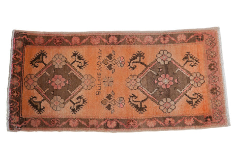 2x4 Vintage Distressed Oushak Rug Runner // ONH Item 8155