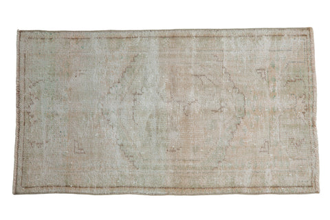 2.5x4.5 Vintage Distressed Oushak Rug // ONH Item 8290