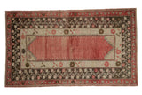 3.5x6 Vintage Distressed Oushak Rug // ONH Item 8311