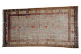 4x7 Vintage Distressed Khotan Rug // ONH Item 8320