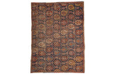 3.5x5 Antique Fragment Afshar Rug // ONH Item 8327