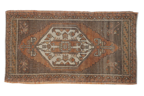 2x3.5 Vintage Distressed Oushak Rug // ONH Item 8385