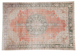 7.5x11 Vintage Distressed Sparta Carpet // ONH Item 8543