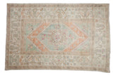 6x9 Vintage Distressed Oushak Carpet