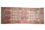 4.5x11.5 Vintage Distressed Oushak Rug Runner // ONH Item 8557