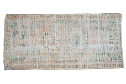 2x4 Vintage Distressed Oushak Rug Runner // ONH Item 8602