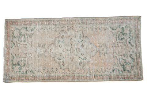 2x4 Vintage Distressed Oushak Rug Runner // ONH Item 8603