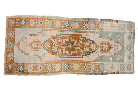Vintage Distressed Oushak Rug Runner / ONH item 8631