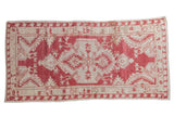 Vintage Distressed Oushak Rug Runner / ONH item 8915
