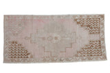 Vintage Distressed Oushak Rug Runner / ONH item 8923