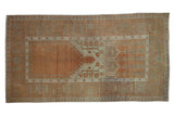 4.5x8.5 Vintage Distressed Oushak Rug // ONH Item 9090