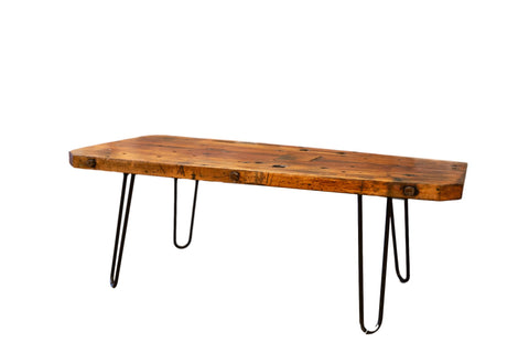 Reclaimed Wood Coffee Table // ONH Item AS5960D5471A