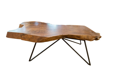 Handcrafted Live Edge Walnut Coffee Table // ONH Item AS6866A6771A
