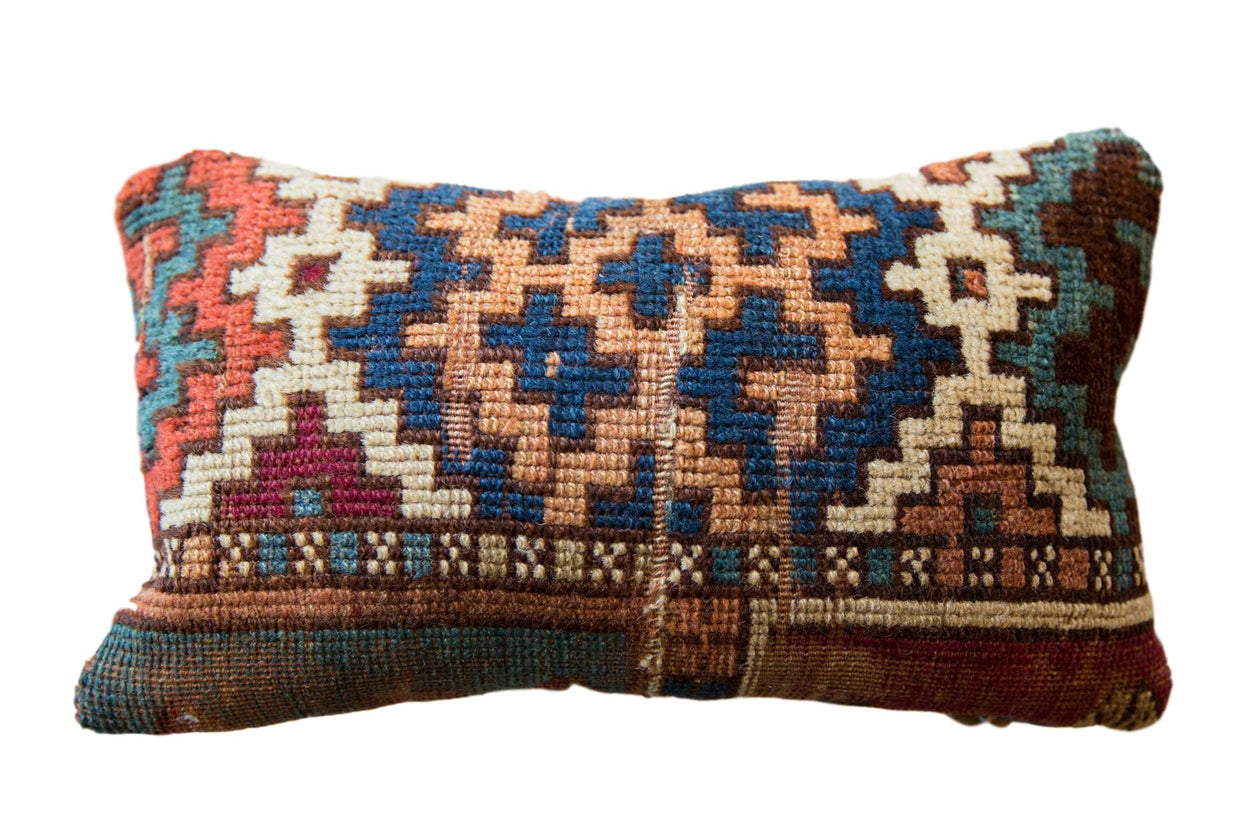 Reclaimed Vintage Rug Fragment Pillow // ONH Item AS7459A7466A