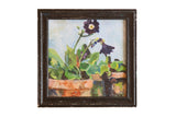 Grace Keogh Potted Flowers Painting / ONH Item ct001174