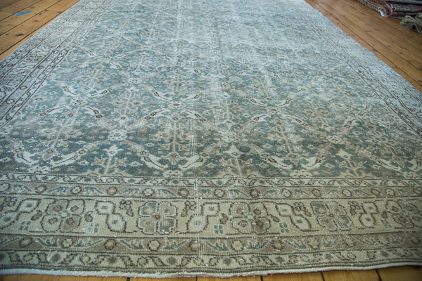 7x10.5 Distressed Oushak Carpet - Old New House