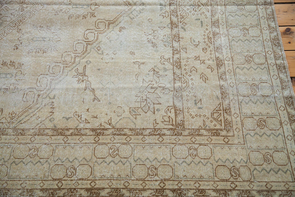 6x9 Distressed Oushak Carpet - Old New House