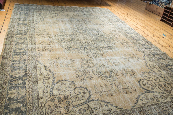 7.5x11 Distressed Oushak Carpet - Old New House