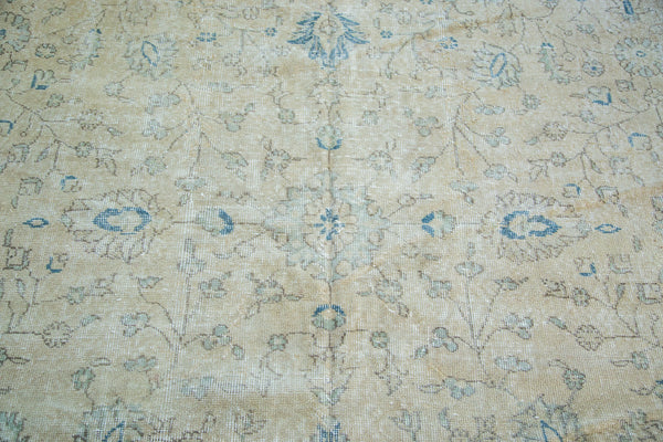 9x12.5 Distressed Oushak Carpet - Old New House