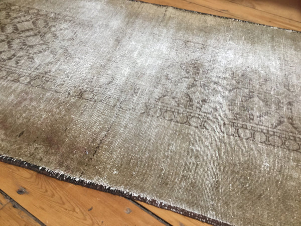 3x5.5 Distressed Belouch Rug - Old New House
