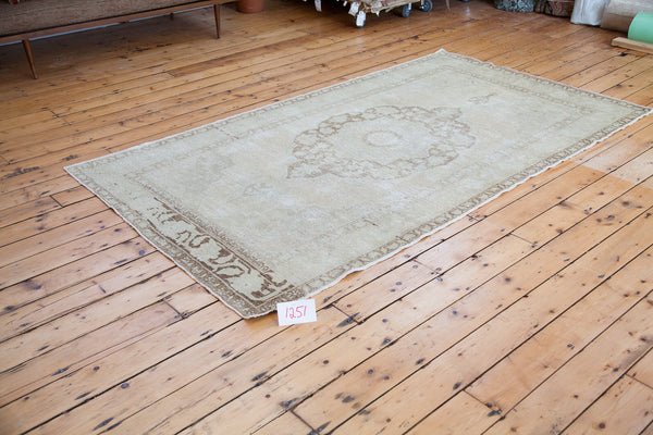 5x9 Vintage Oushak Carpet - Old New House