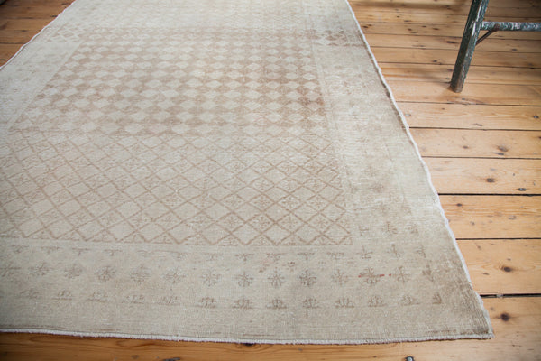 4.5x7.5 Distressed Harlequin Oushak Rug - Old New House