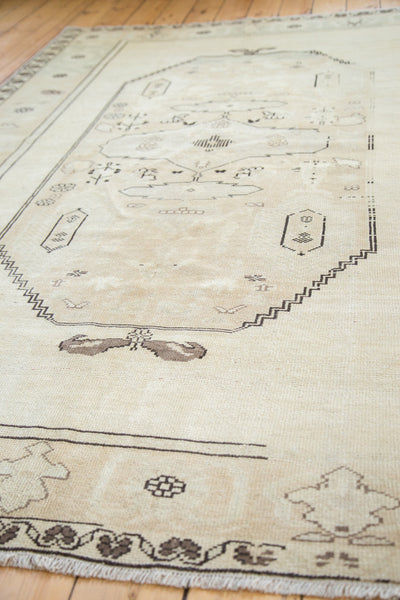 6x8.5 Vintage Oushak Carpet - Old New House